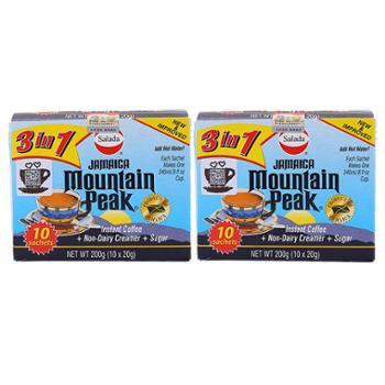 牙买加摩品三合一速溶咖啡饮料(固体饮料)200克x2盒