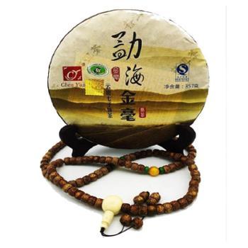 2008年云南勐海金毫普洱茶熟茶357g