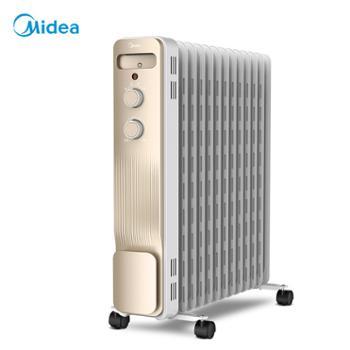 美的取暖器油汀电暖气NY2213-18GW