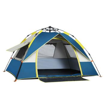 探险者全自动帐篷户外防暴雨野营