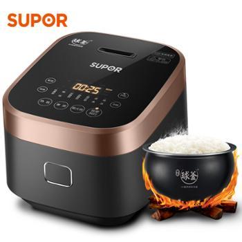 苏泊尔(SUPOR)IH电磁球釜内胆智能家用小型3L电饭煲SF30HC749