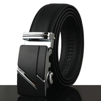 芙拉迪牛皮皮带商务系列真皮自动扣腰带FB01-7002