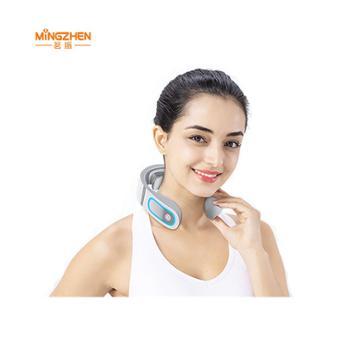 茗振(MZ)颈椎按摩仪N5小米白豪华款(2倍脉冲按摩+遥控器)