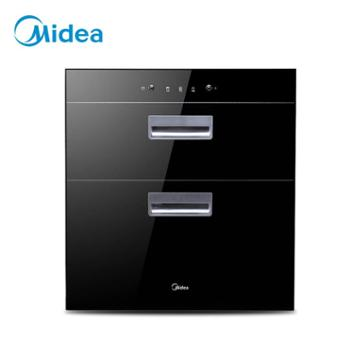 美的消毒柜MXV-ZLP100Q33二星级嵌入式双门紫外线高温消毒碗柜
