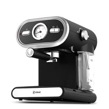 Donlim/东菱 DL-KF5002 20BAR意式咖啡机半自动家用可视化全温控