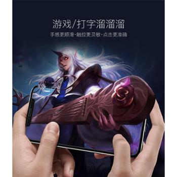 BASEUS/倍思 iPhoneX非全屏(缩边)防蓝光钢化膜0.2mm 苹果X手机保护膜