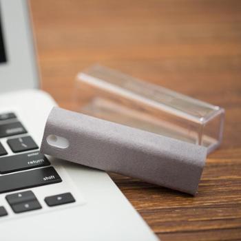 丹麦am 手机屏幕清洁擦清洁布+补充液 去污杀菌神器组合套装 121101