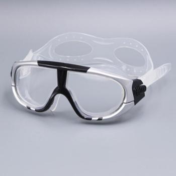 GRiLong 液态硅胶防雾大框游泳镜 高清防水泳镜 G-917
