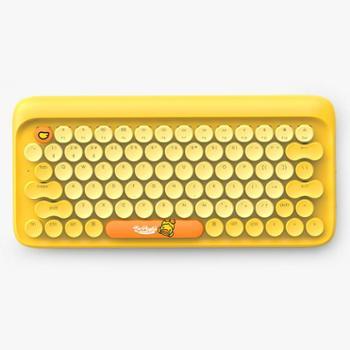 lofree洛斐 dot圆点蓝牙机械键盘 无线复古手机ipad平板苹果MAC