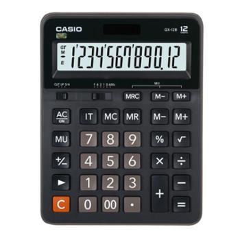卡西欧GX-12B计算器CASIO日常商务计算器