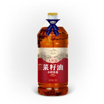 大宋福 小榨浓香菜籽油 1.8L
