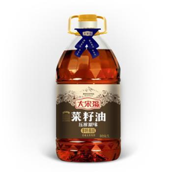 大宋福 压榨原味菜籽油 5L/瓶