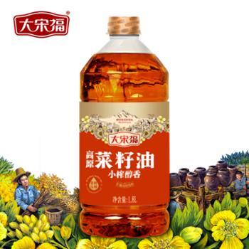 大宋福 小榨醇香菜籽油 1.8L
