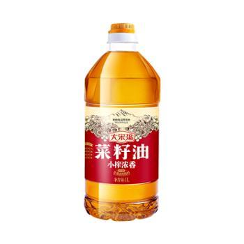 大宋福 小榨浓香菜籽油 1L*12瓶