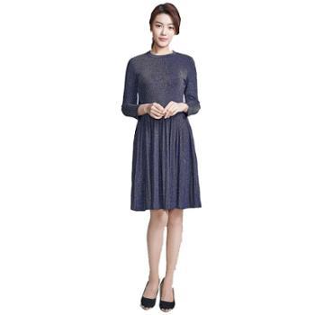 牧都绒语女士连衣裙FW9041-42