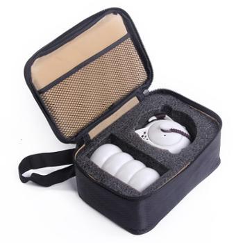 慕之风陶茶具茶杯壶和四个杯子套装带旅行包装袋