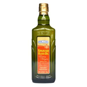 贝蒂斯 特级初榨橄榄油 食用油 750ml