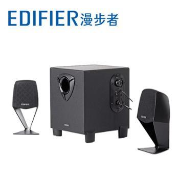 Edifier/漫步者 R102V音箱 2.1木质多媒体电脑音响低音炮笔记本