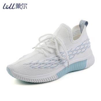 Lell/莱尔女士运动鞋网面鞋小白鞋子F05