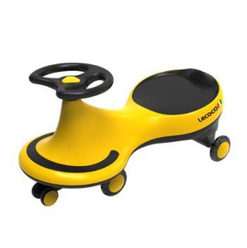 Lecoco/乐卡费尼扭扭车滑步车闪光静音轮儿童溜溜车