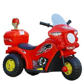贝爵儿童电动车踏板三轮炫酷电瓶车