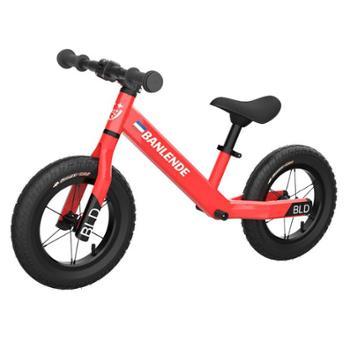 佰澜德儿童平衡车无脚踏滑行步两轮自行车12寸
