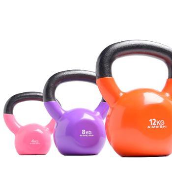 艾美仕男女士健身壶铃球提壶哑铃4kg-32公斤