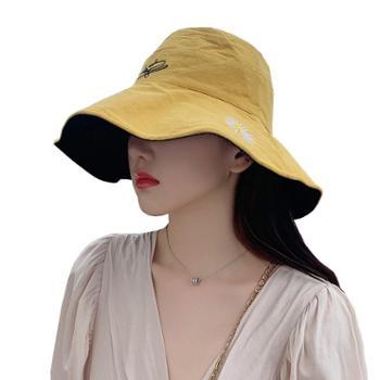 艾凝雪女士渔夫帽折叠太阳帽MZ424
