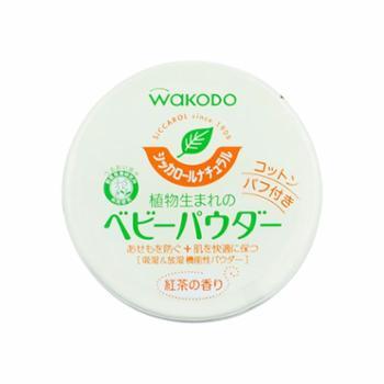 WAKODO/和光堂植物性红茶香痱子粉/爽身粉120g/罐