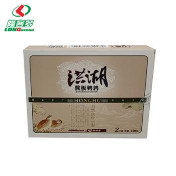 隆客多酱板鹌鹑(2只装)100g/盒