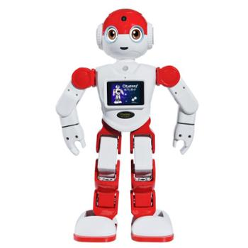 城市漫步人工智能情感机器人小E二代 智能教育学习同步小学教材 益智早教智能陪伴玩具机器人 APP无线应用 二次开发