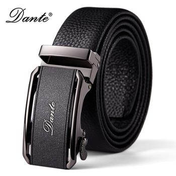 Dante/丹迪真皮腰带自动扣商务休闲