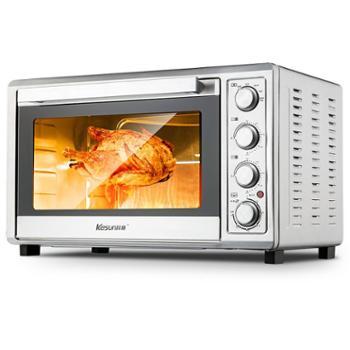 科顺/Kesun 65L超大容量家用专业烘培电烤箱TO-601RCL