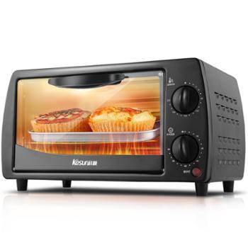 科顺/Kesun 电烤箱 家用烘焙多功能电烤箱 12L TO-121 黑色