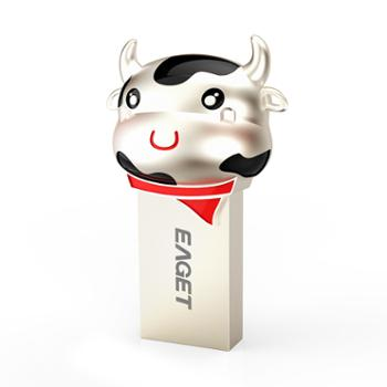 LOFREE 128G USB3.0 U盘 生肖牛限量版礼盒装 U91