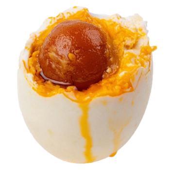 固佳 散养麻鸭咸鸭蛋熟鸭蛋 20枚