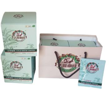 达雅咖啡云南孟连达雅冷萃咖啡10袋/盒、12g/袋
