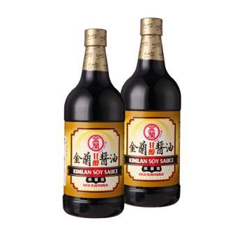 金兰 甘醇酱油厨房调味品 1000ml*2瓶