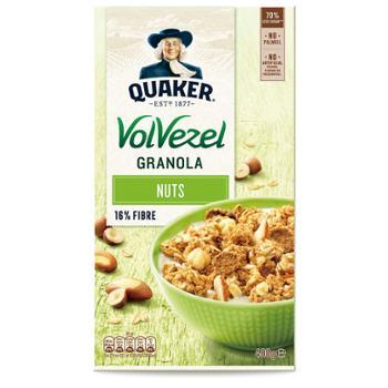 桂格 荷兰进口 巴西坚果谷物粒即食燕麦片 400g*2盒