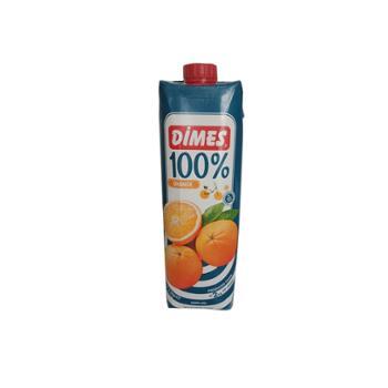 迪美汁 土耳其进口 100%橙汁 1L*2盒
