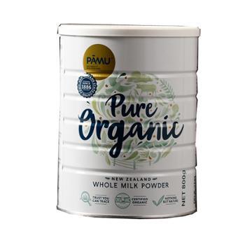 派慕 新西兰进口 PAMU有机全脂乳粉 800g