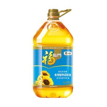 福临门 中粮出品 葵花籽清香食用植物调和油 5L