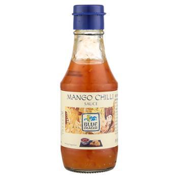 蓝龙牌 泰国进口芒果酸辣酱 190ml*2瓶