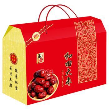 孟蕾 新疆特产大枣礼盒A 1kg