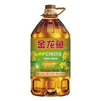 金龙鱼 低芥酸特香菜籽油 5L