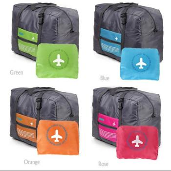 韩版牛津布折叠旅行手提包收纳包旅游收纳袋