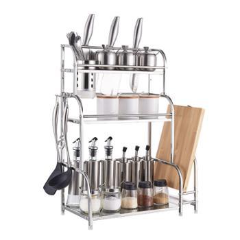 意善(ES)厨房置物多层不锈钢多功能收纳架