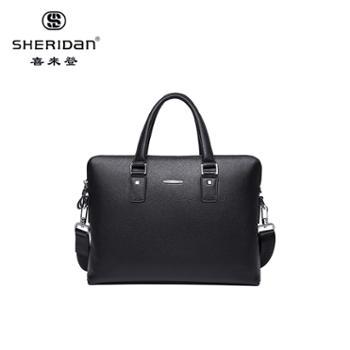 Sheridan喜来登商务男士手提包黑色(内置移动电源)NL181236S