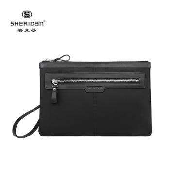 Sheridan喜来登手包商务休闲手拿包信封包黑色NL210932S