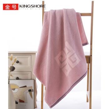 金号 花式线提缎纯棉大毛巾 150cm*73cm